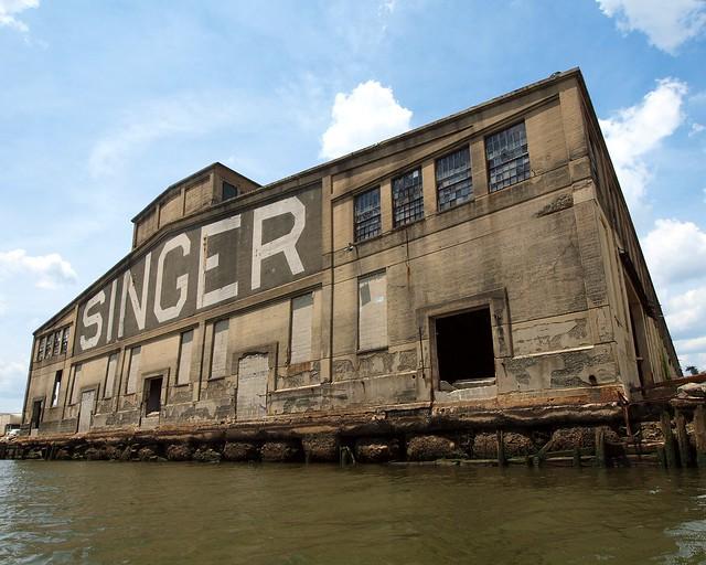 singer sewing machine factory