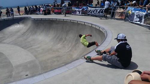 At Venice Beach Skate Park