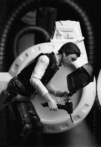 27/52 | Han Solo Working on Hyperdrive by egerbver
