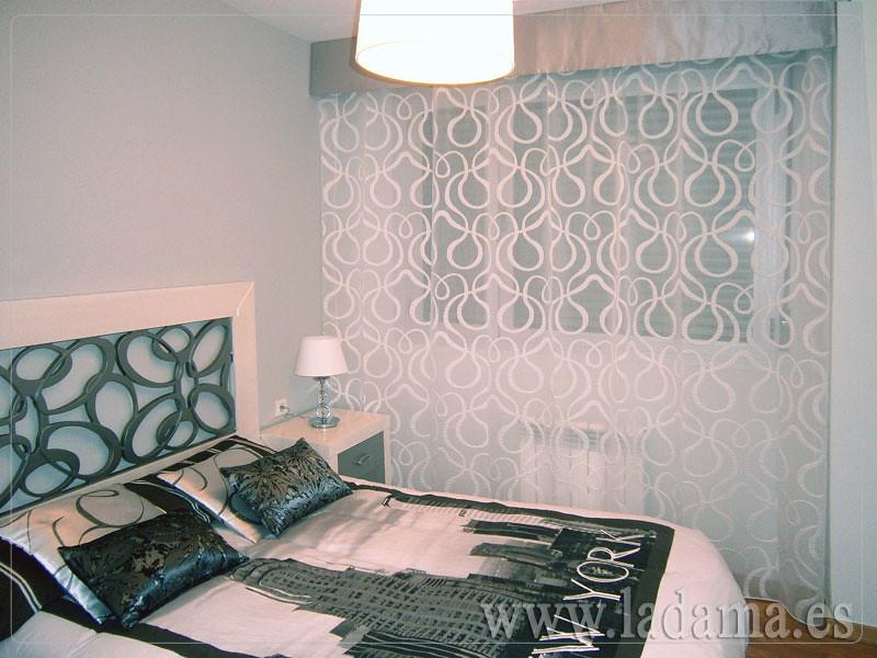 Fotograf as de cortinas modernas la dama decoraci n - Visillos para dormitorios ...