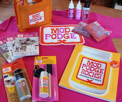 Mod Podge Rocks giveaway