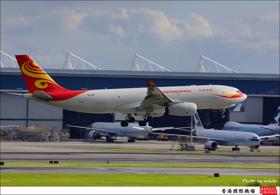 Hong Kong Airlines / B-LNY / Hong Kong International Airport