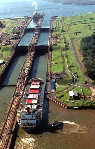 Panama-Canal-in-Panama