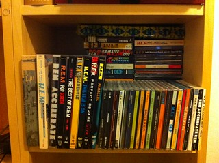 Thank you #REM for filling my shelf with awesome music. Photo: | by remfan