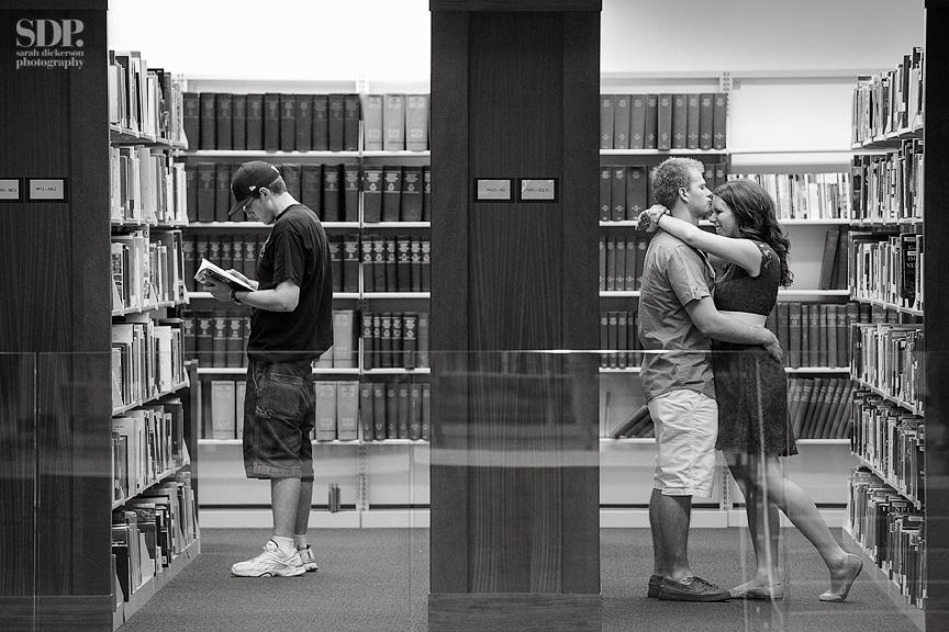 Kansas City Public Library engagement session