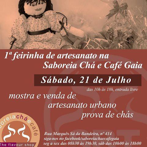 1ª feirinha Saboreia Chá e café by ♥Linhas Arrojadas Atelier de costura♥Sonyaxana