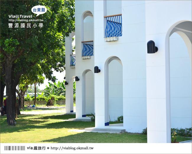 【台東地中海國小】台東豐源國小~一起探訪全台最美的小學!!24