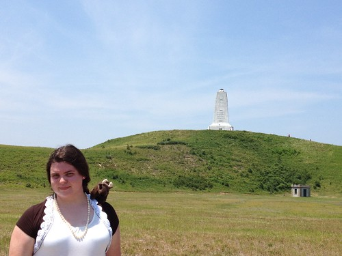 Tiffany at Kitty Hawk, NC