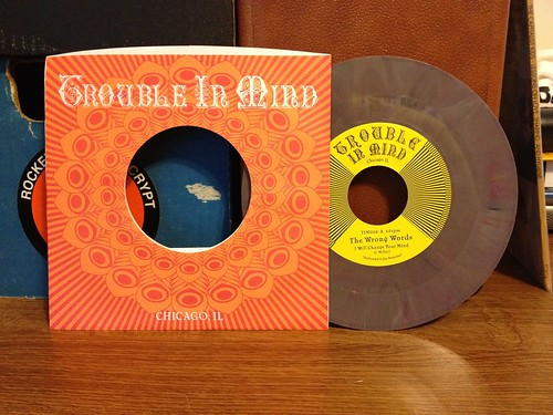 "The Wrong Words - I Will Change Your Mind 7"" - Purple Vinyl (/500) by Tim PopKid"