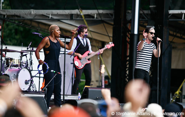 Fitz And The Tantrums @ Firefly Music Festival, Dover, DE 7/2012