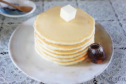 絵本みたいなパンケーキ