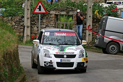Rallye de Sarón 2012 VI Memorial Cristian López Herrero