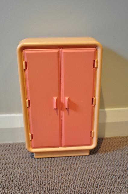 vintage barbie dream furniture armoire flickr photo