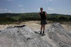 Vulcanii noroioși ou volcans de boue, Roumanie