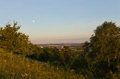Paysage depuis le Mont Saint Quentin