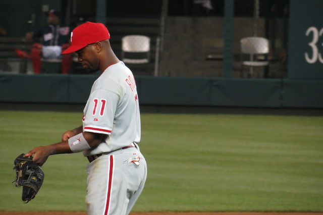 Phillies Shortstop - Jimmy Rollins from Flickr via Wylio