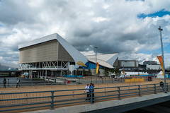 London 2012 Olympic Park Aquatic centre