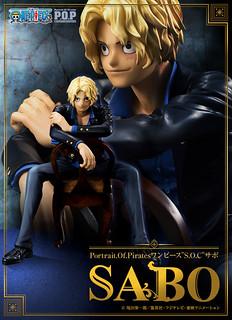 """性感的革命軍第二把交椅!!Portrait.Of.Pirates 海賊王【薩波】""""S.O.C"""" Sabo"""