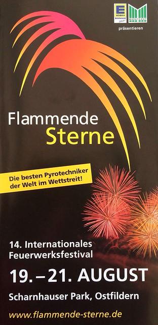 FLAMMENDE STERNE OSTFILDERN 2016