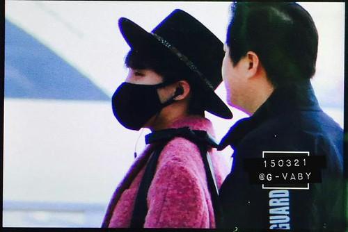 Big Bang - Incheon Airport - 21mar2015 - G-Dragon - G_Vaby - 02