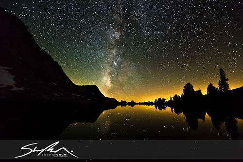 Fletcher Lake Milky Way Reflection