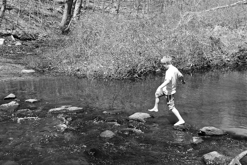 A Boy and a Creek 02