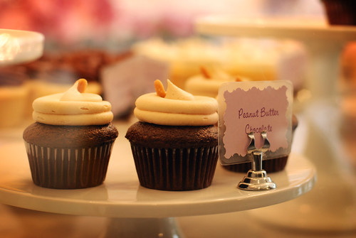 Peanut Butter Cupcake at Flour Studio