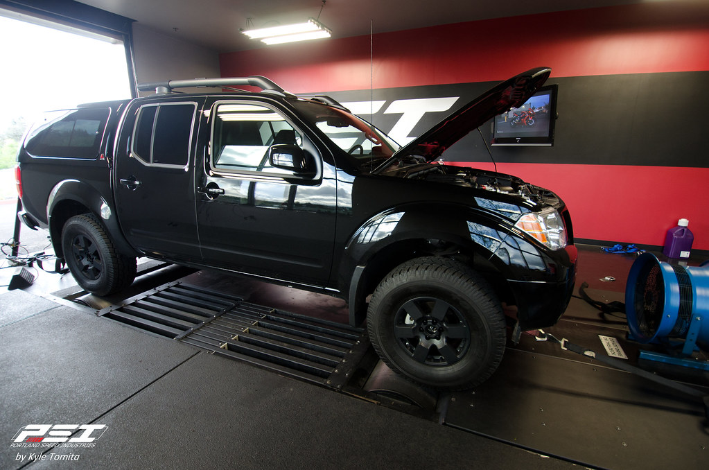 Nissan Frontier on the dyno at PSI
