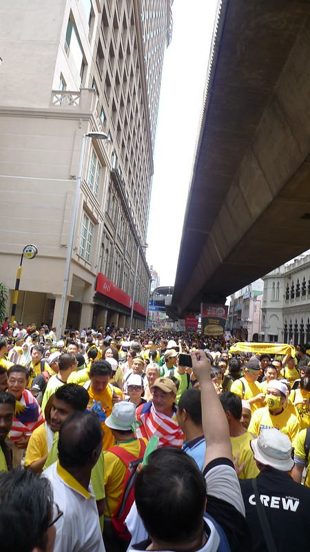 Bersih 3.0 at Jalan Tun Perak