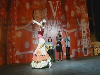 video 02 Swanny Leda y al toque Yumiel Rascón V Feria Abril Las Palmas de Gran Canaria 2012