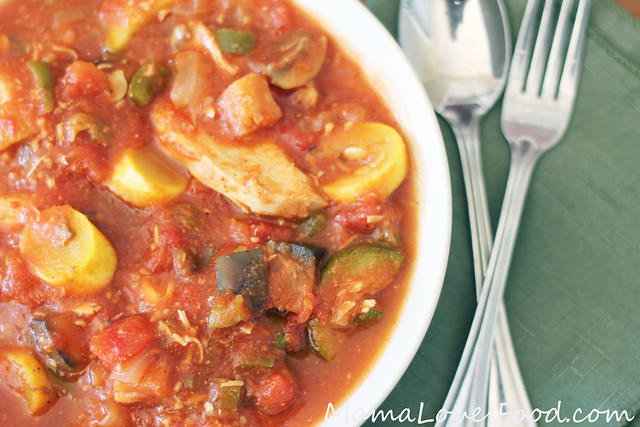 Slow Cooker Italian Chicken Stew