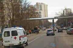 Sur la route entre Vladykino et Gorbouchka