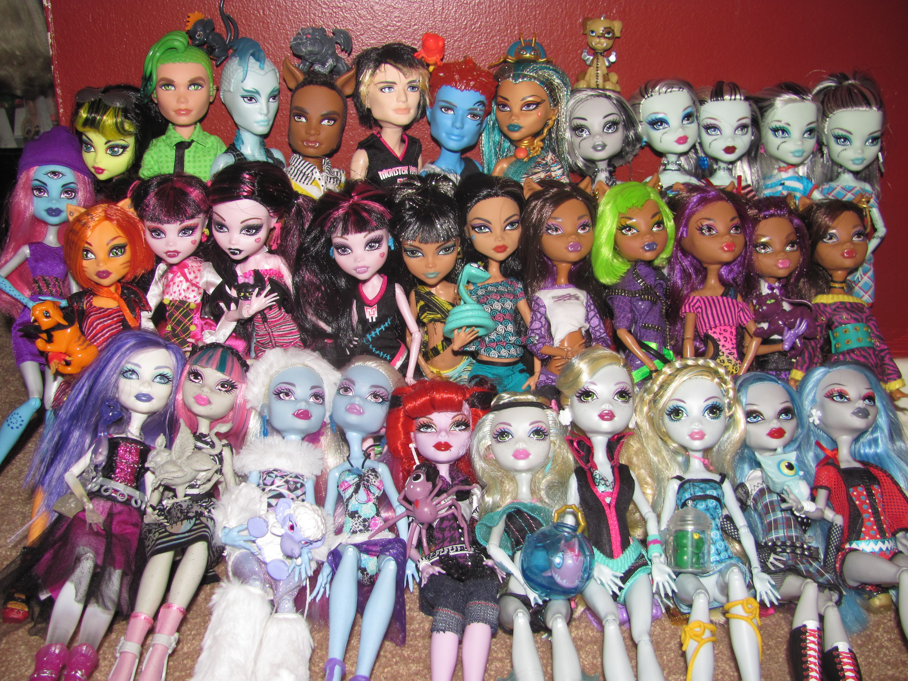 Full Collection of Monster High Dolls Monster High Dolls Collection