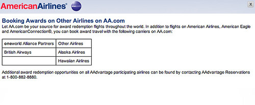 List of airlines you can book at aa.com