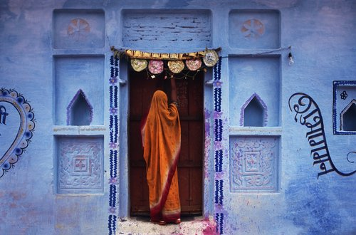 Jeffrey Becom, Wedding Wall, Naoli, Madhya Pradesh, India, 2008