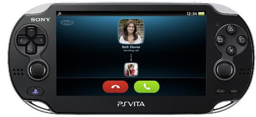 Skype video calling PS Vita