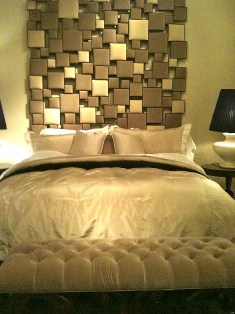 High point spring 2012 dramatic headboards aphrochic for Dramatic beds