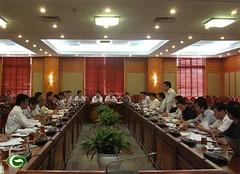 Thứ trưởng Nguyễn Thanh Nghị tiếp và làm việc với Bộ Khoa học và Công nghệ
