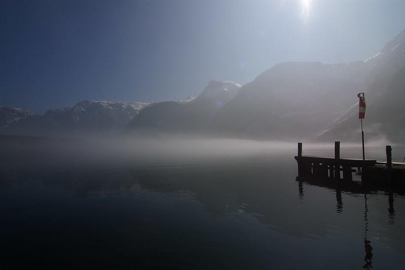 奧地利~~阿爾卑斯山脈群下的湖區
