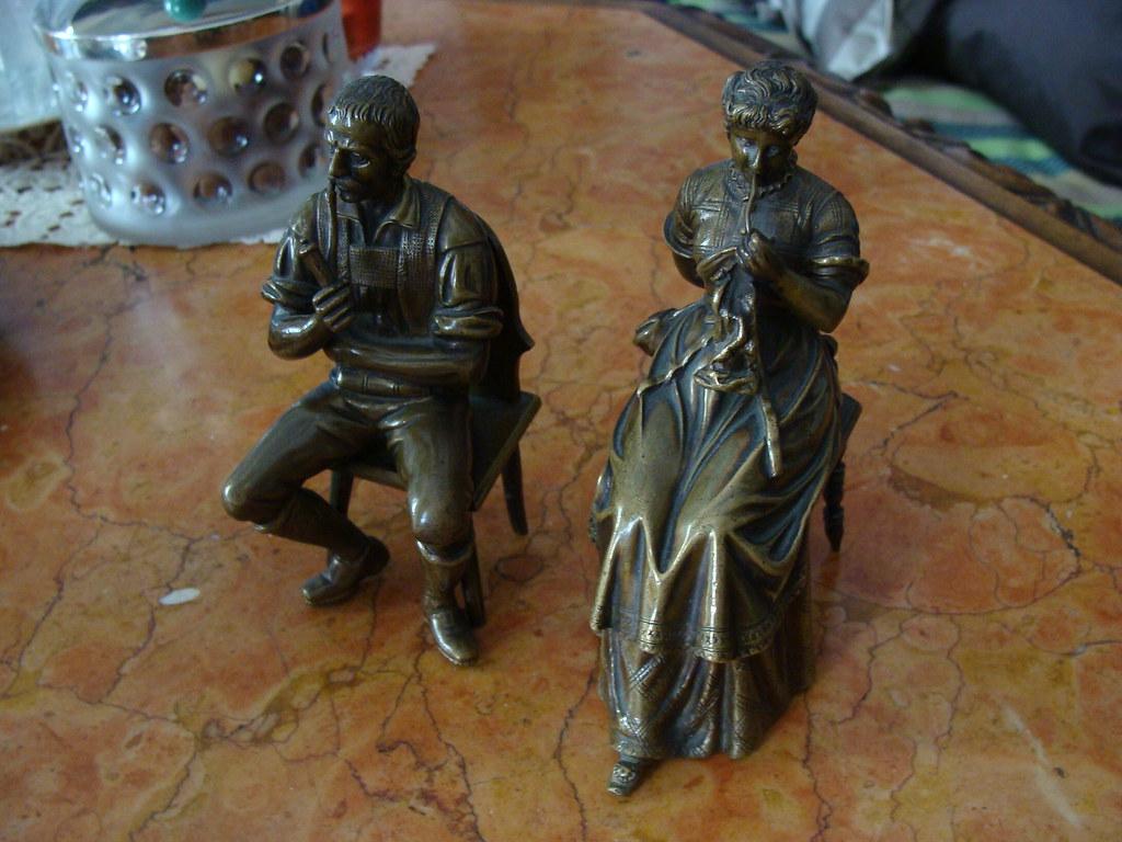 bronze vollguss um 1900 klein plastik wien monogramm. Black Bedroom Furniture Sets. Home Design Ideas