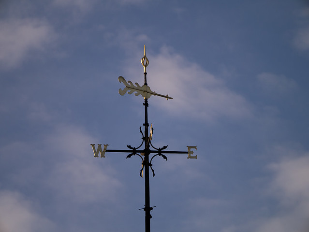 Weather Vane, White House, Leighton Buzzard