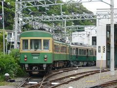 江ノ電305F+1502F@極楽寺検車区