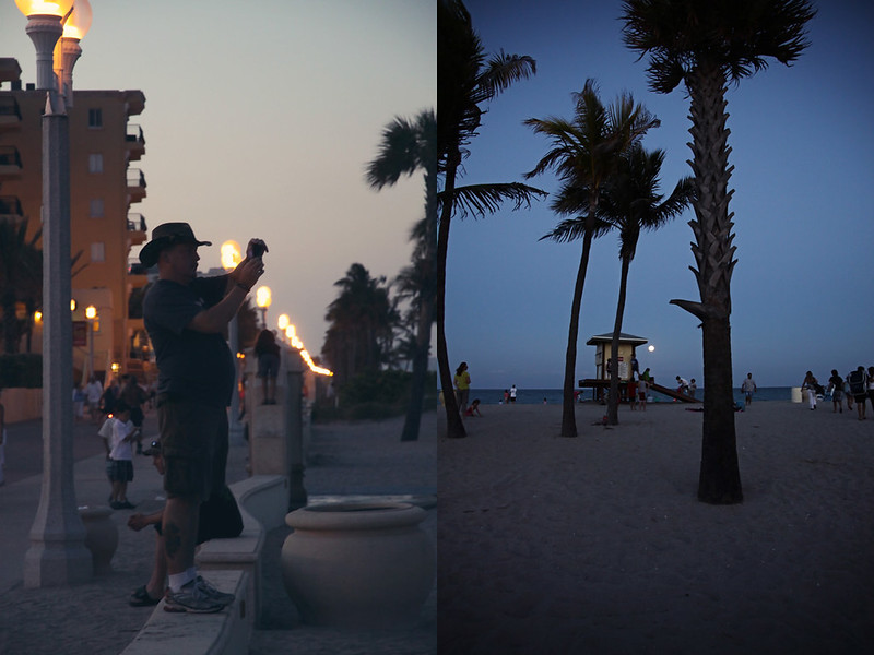 supermoon Mr Andy diptych