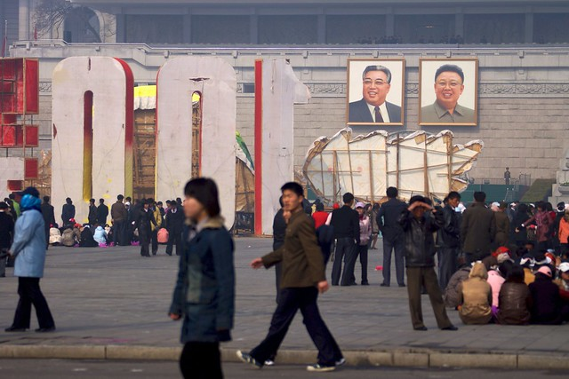 Pyongyang 100th Year Kim Il Sung Birthday Celebrations