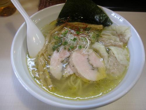 塩ワンタン麺@美志満(桜台)