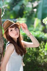 [フリー画像素材] 人物, 女性 - アジア, 台湾人, 帽子 ID:201303031800