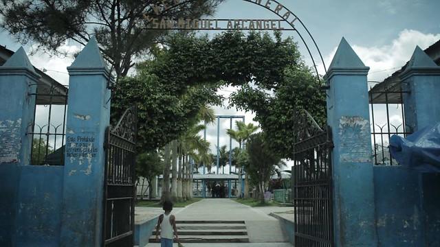 Plano inicial del Cementerio General de Iquitos