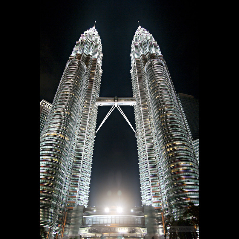 Petronas Towers by night #1