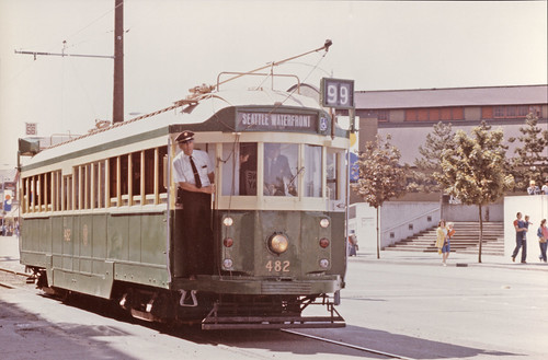 Waterfront streetcar, 1982