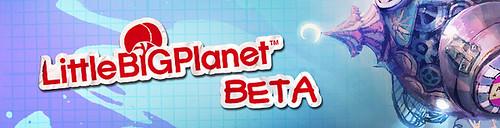 LittleBigPlanet Vita Beta Banner